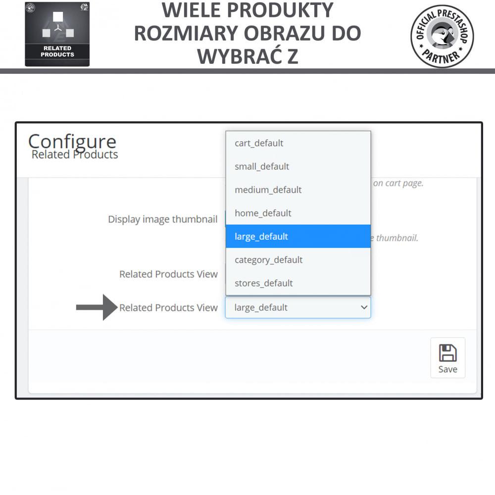 module - Sprzedaż krzyżowa & Pakiety produktów - Moduł Karuzeli Responsywnych Produktów Podobnych - 6