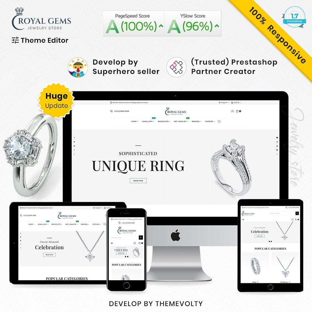 theme - Bellezza & Gioielli - Royal Gems Mega Jewellery–Jewelry Super Store - 1
