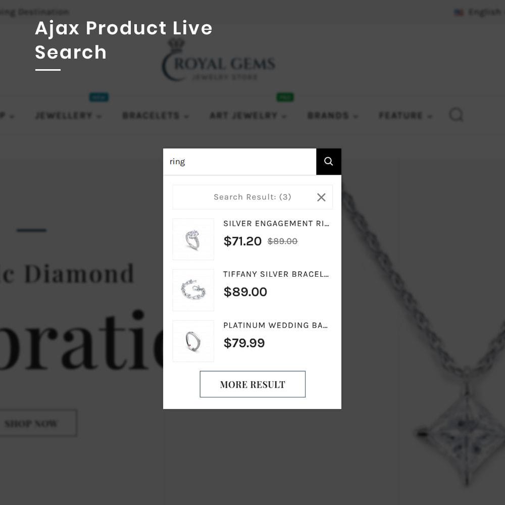 theme - Bellezza & Gioielli - Royal Gems Mega Jewellery–Jewelry Super Store - 6