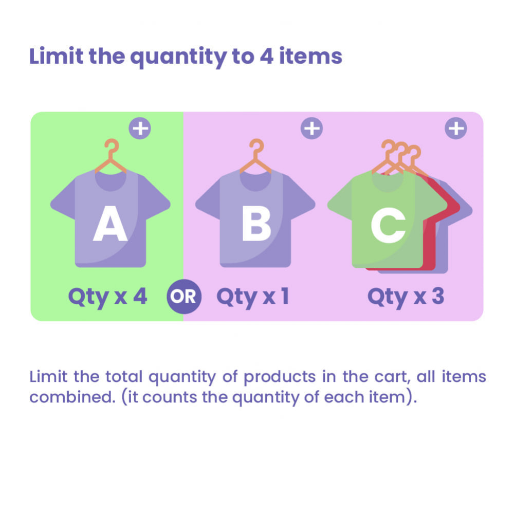 module - Pегистрации и оформления заказа - Cart Quantity Limitation - 4