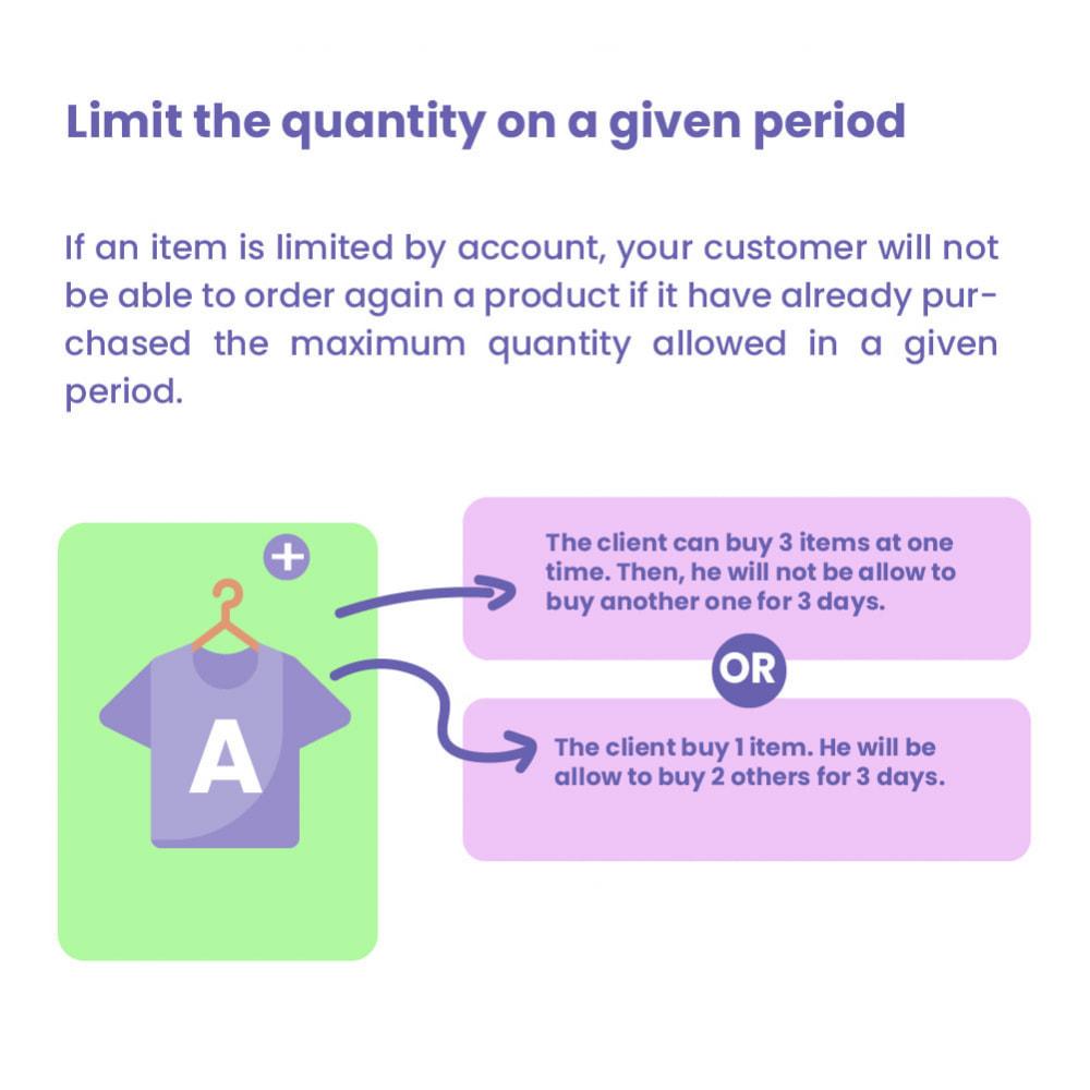 module - Pегистрации и оформления заказа - Cart Quantity Limitation - 6
