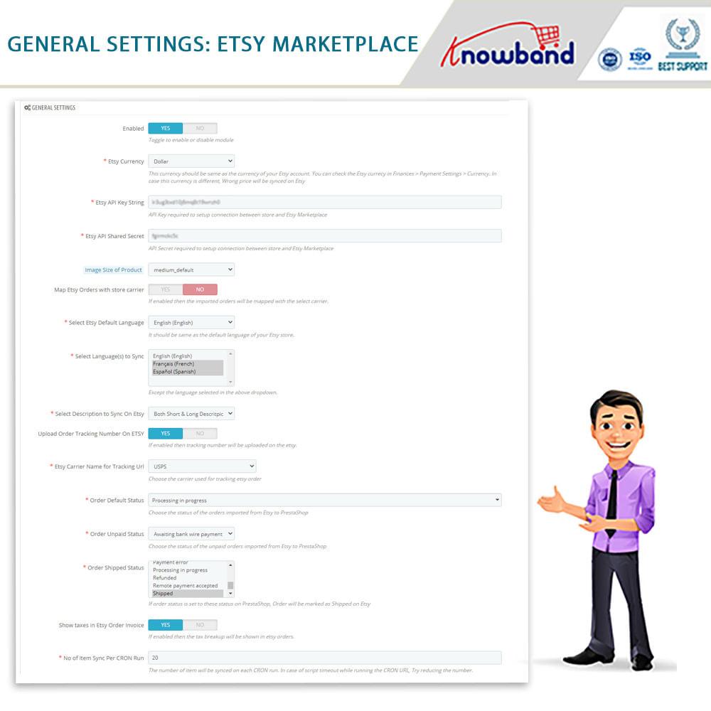 module - Marketplaces - Intégration de la Marketplace Etsy - 11