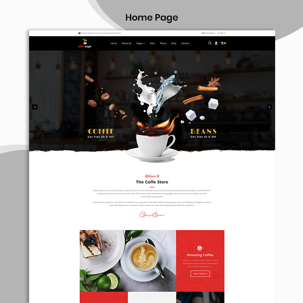 theme - Drink & Tobacco - Hot Cafe Coffee Store - 2