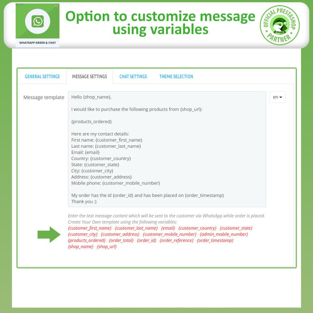 module - Support & Online Chat - Whatsapp Order and Whatsapp Chat - 12