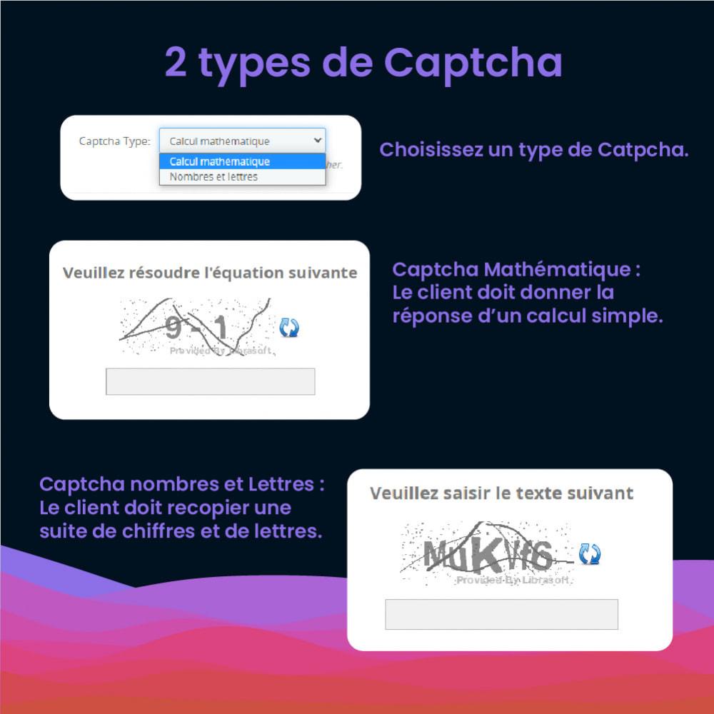 module - Sécurité & Accès - CaptchAdd - Ajouter un captcha simple et efficace - 6