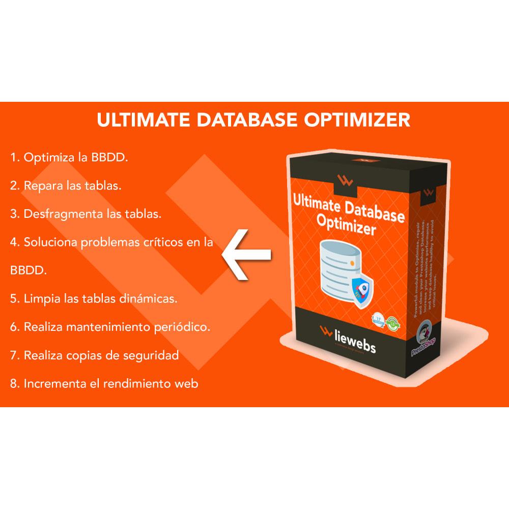 module - Rendimiento del sitio web - Ultimate Database Optimizer - Optimizador base de datos - 1