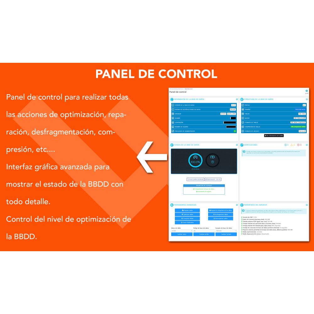 module - Rendimiento del sitio web - Ultimate Database Optimizer - Optimizador base de datos - 3