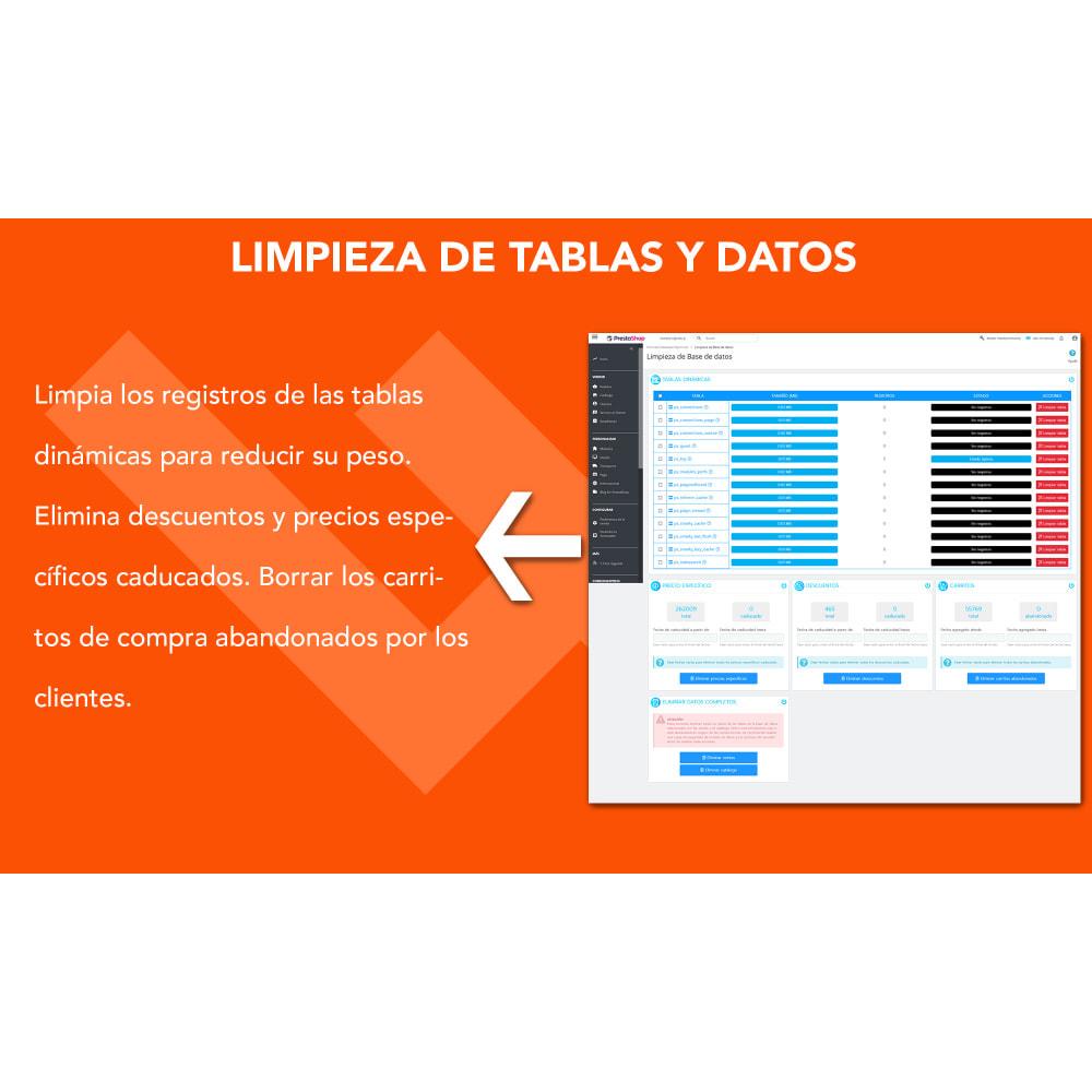 module - Rendimiento del sitio web - Ultimate Database Optimizer - Optimizador base de datos - 4