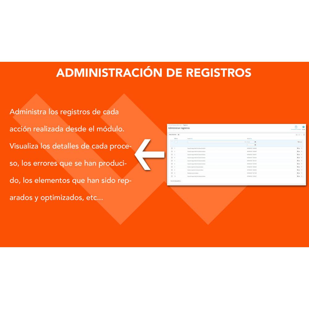 module - Rendimiento del sitio web - Ultimate Database Optimizer - Optimizador base de datos - 5