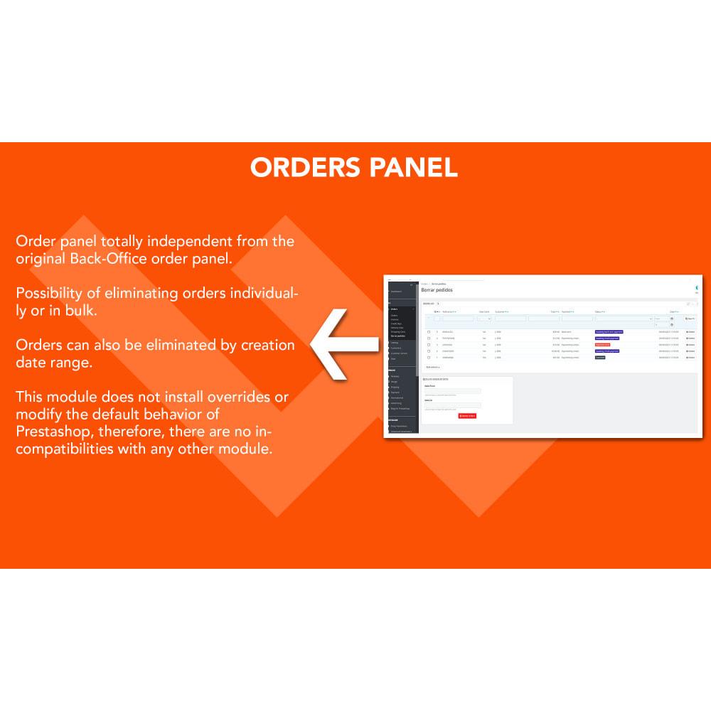 module - Orderbeheer - Advanced Delete Orders - Remove orders - recover stock - 2