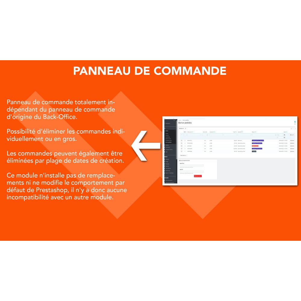 module - Gestion des Commandes - Advanced Delete Orders - Supprimer les commandes - 2