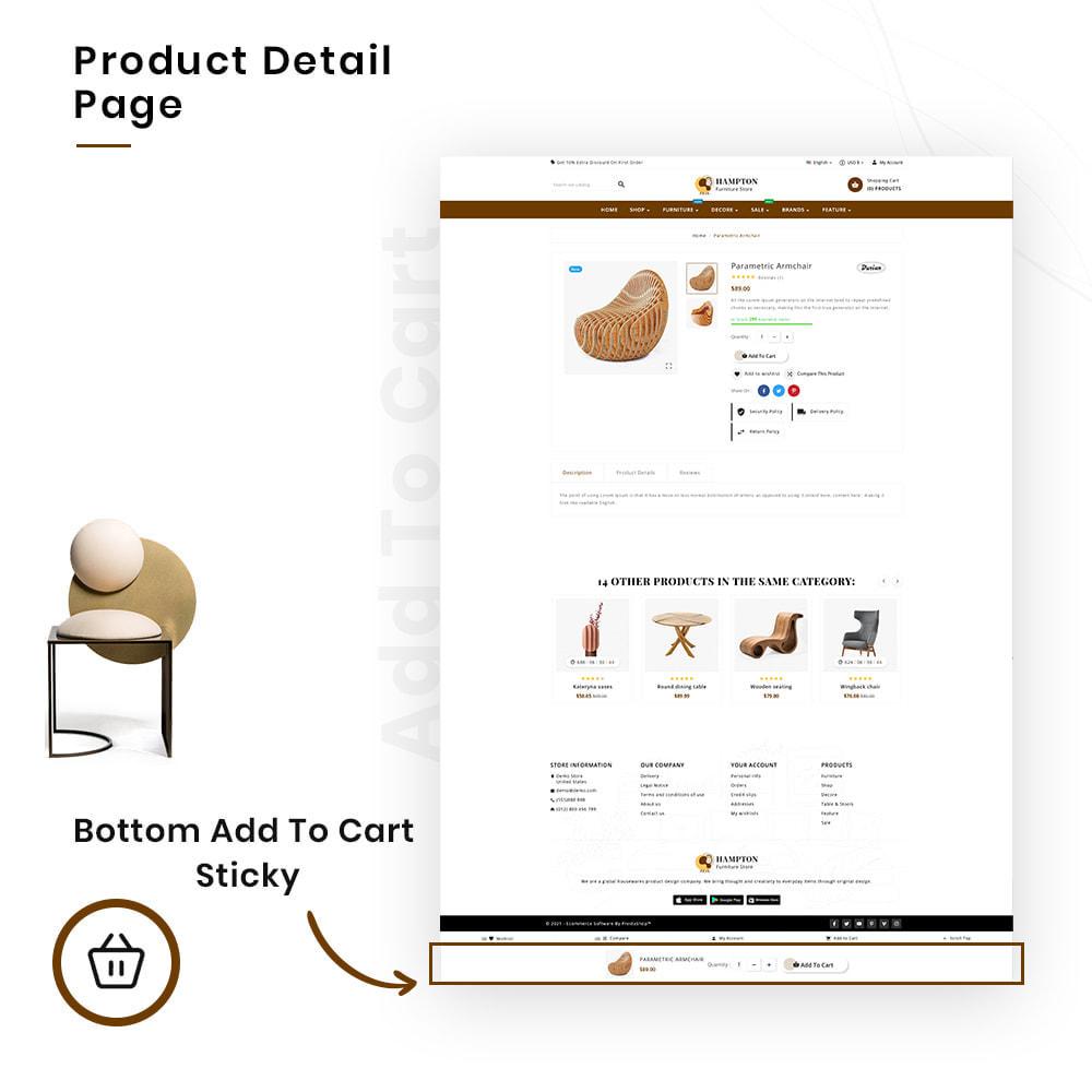 theme - Heim & Garten - HAMPTON Mega Furniture–Craft Interior–Home-Decor Store - 4