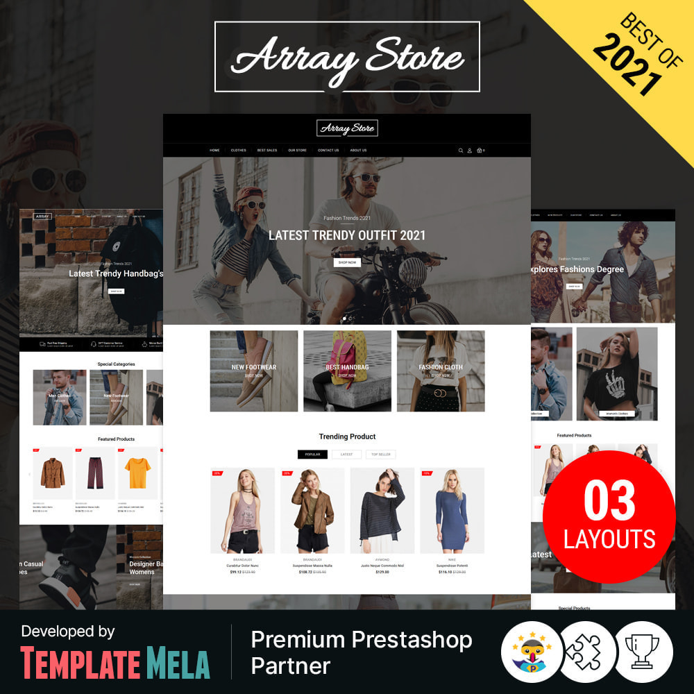 theme - Moda y Calzado - Array Fashion Store - 1