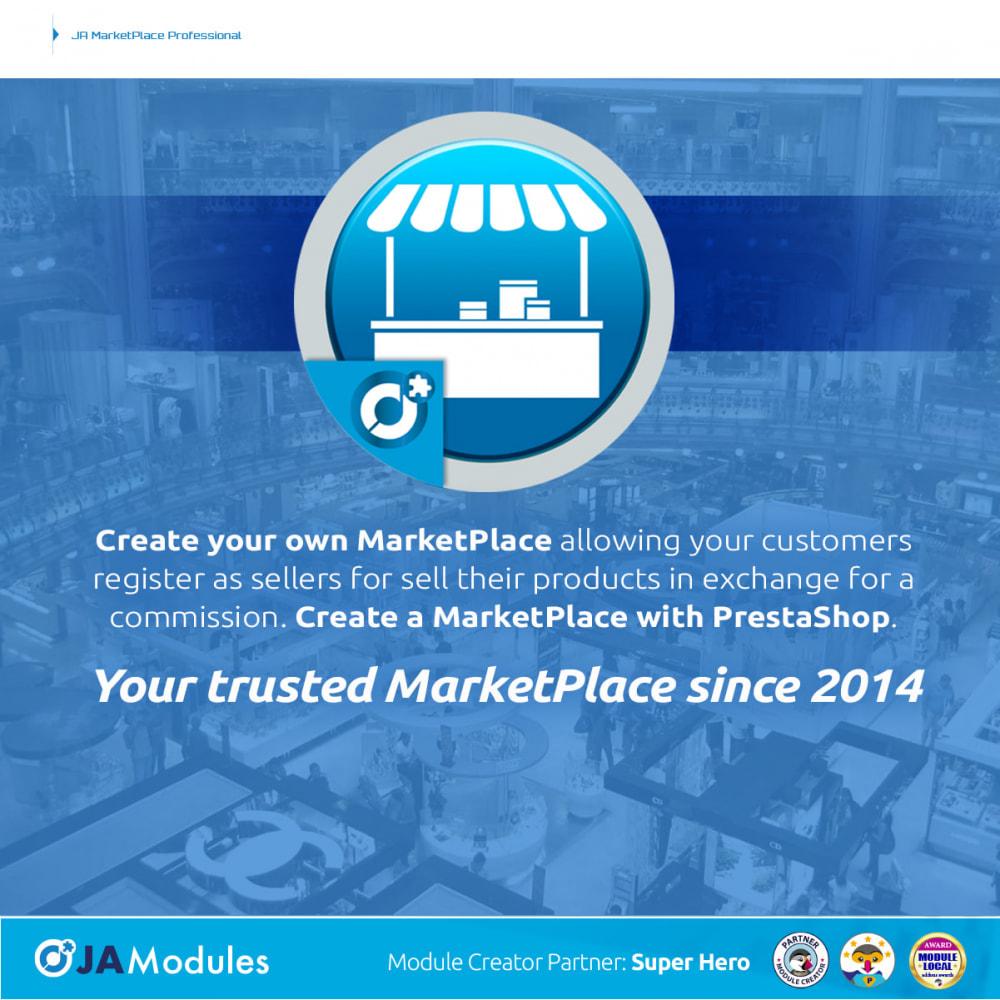 module - Creazione Marketplace - JA Marketplace - 1