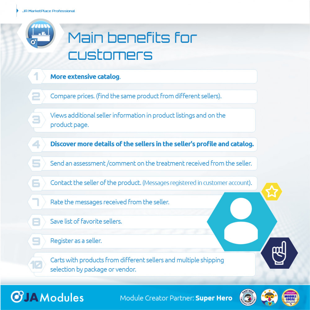 module - Creazione Marketplace - JA Marketplace - 6