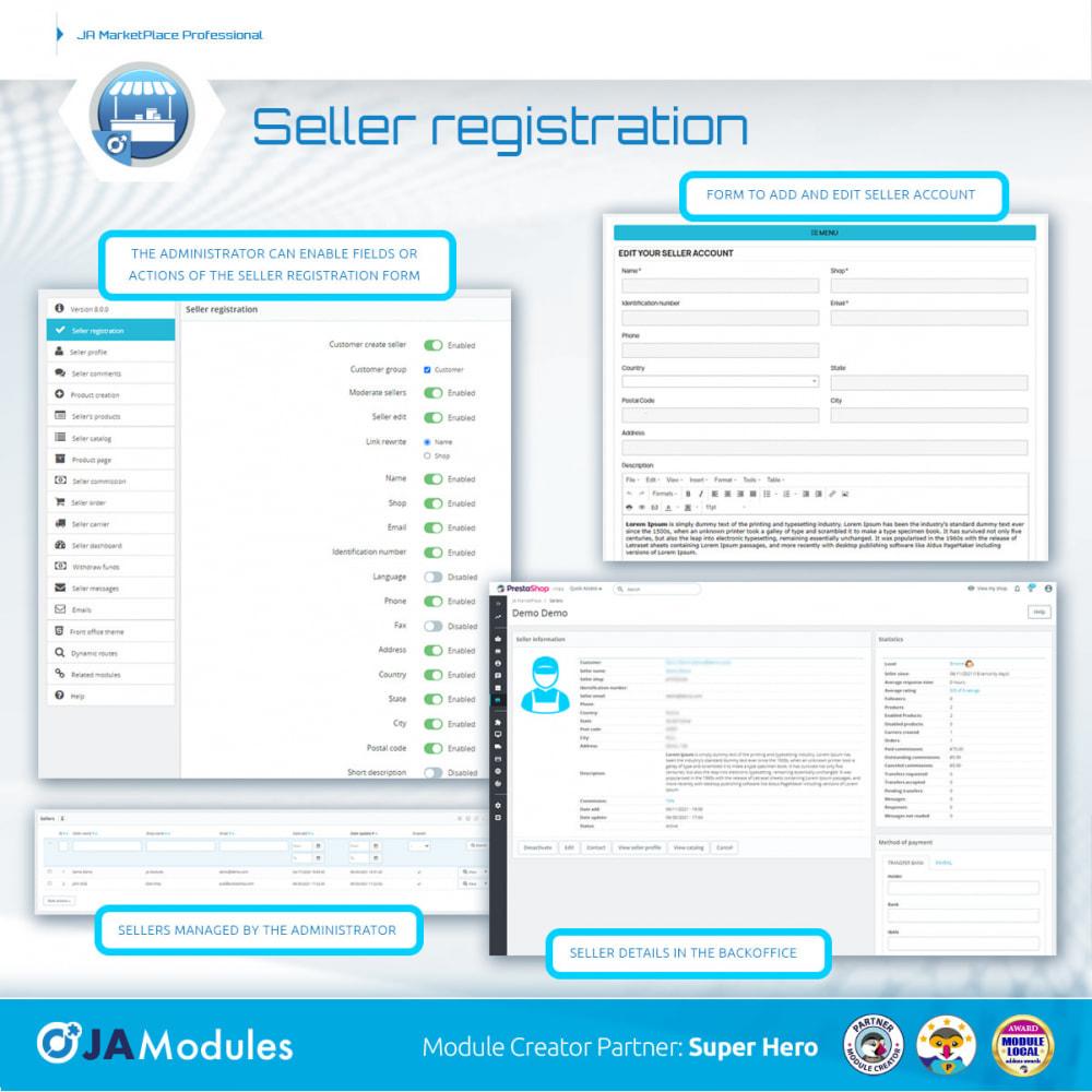 module - Creazione Marketplace - JA Marketplace - 7
