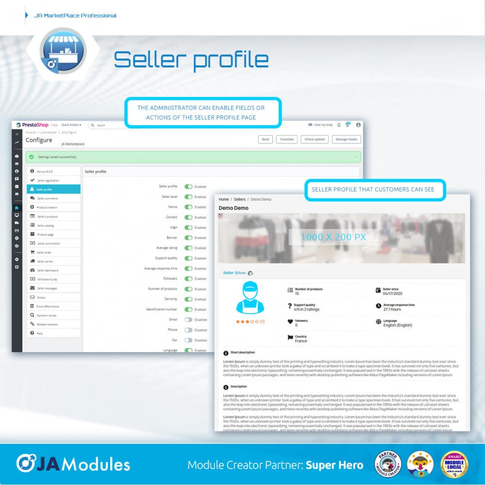 module - Creazione Marketplace - JA Marketplace - 8