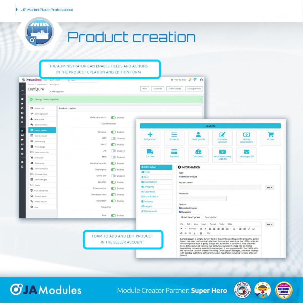 module - Creazione Marketplace - JA Marketplace - 10