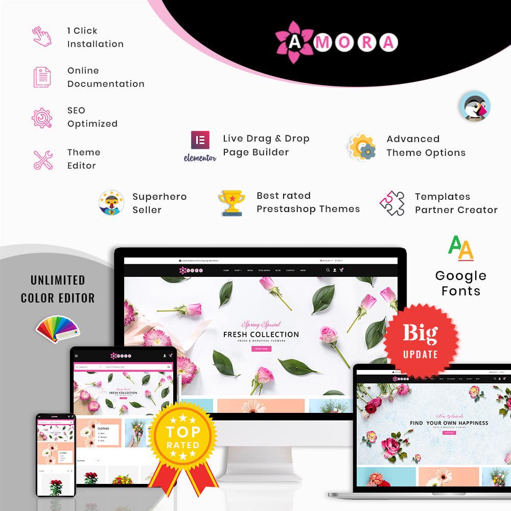 theme - Prezenty, Kwiaty & Uroczystości - Amora Flower Gift Store - 1