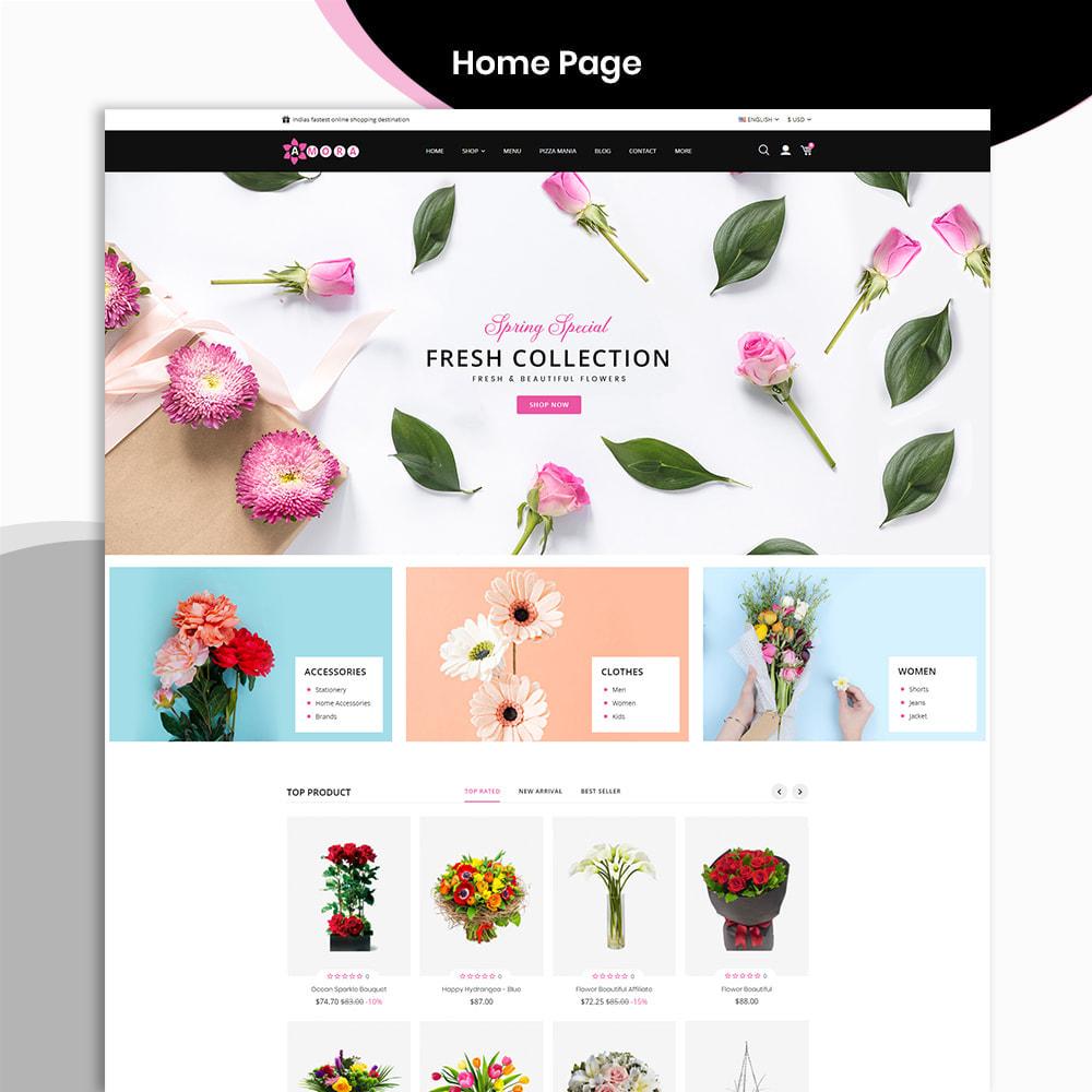 theme - Prezenty, Kwiaty & Uroczystości - Amora Flower Gift Store - 2