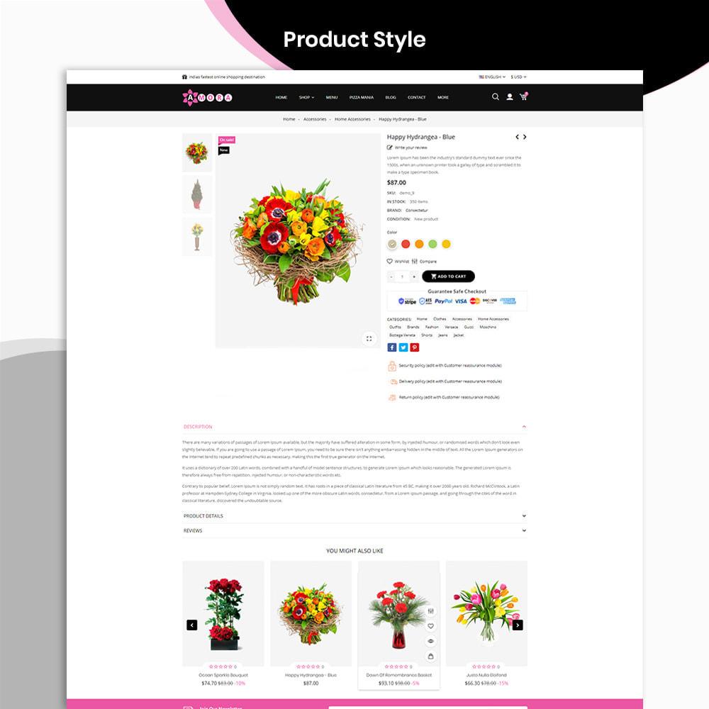 theme - Prezenty, Kwiaty & Uroczystości - Amora Flower Gift Store - 4