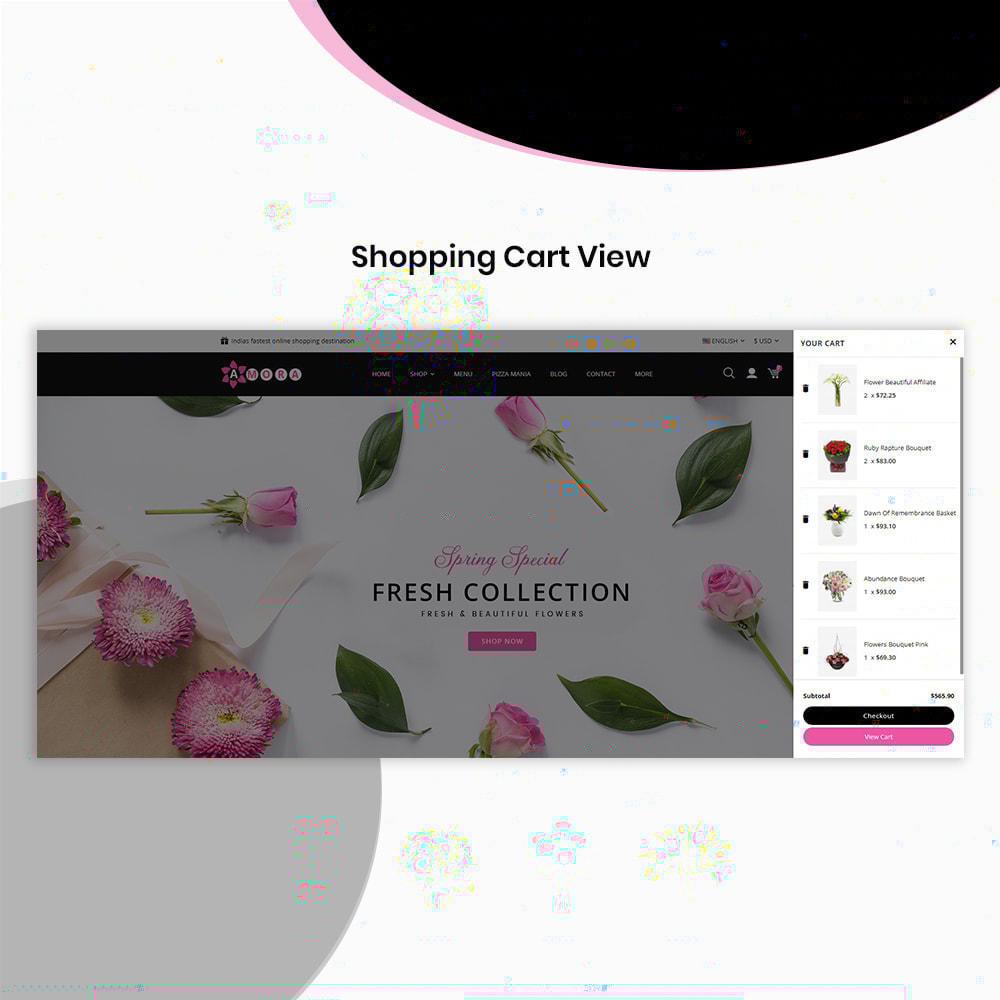 theme - Prezenty, Kwiaty & Uroczystości - Amora Flower Gift Store - 6