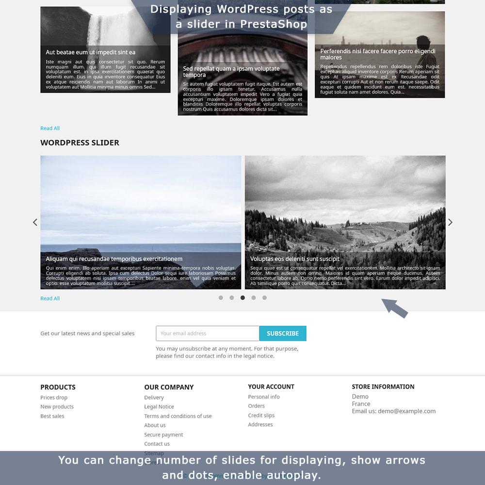 module - Blog, Forum & Nieuws - PrestaShop-WordPress two-way integration - 4