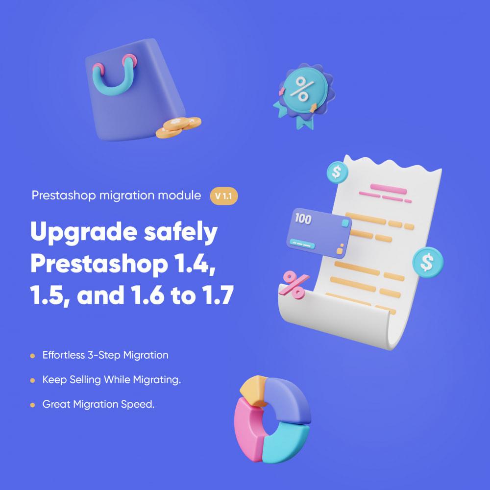 module - Migración y Copias de seguridad - 1-Click Upgrade and Migrate Tool to Prestashop 1.7 - 2