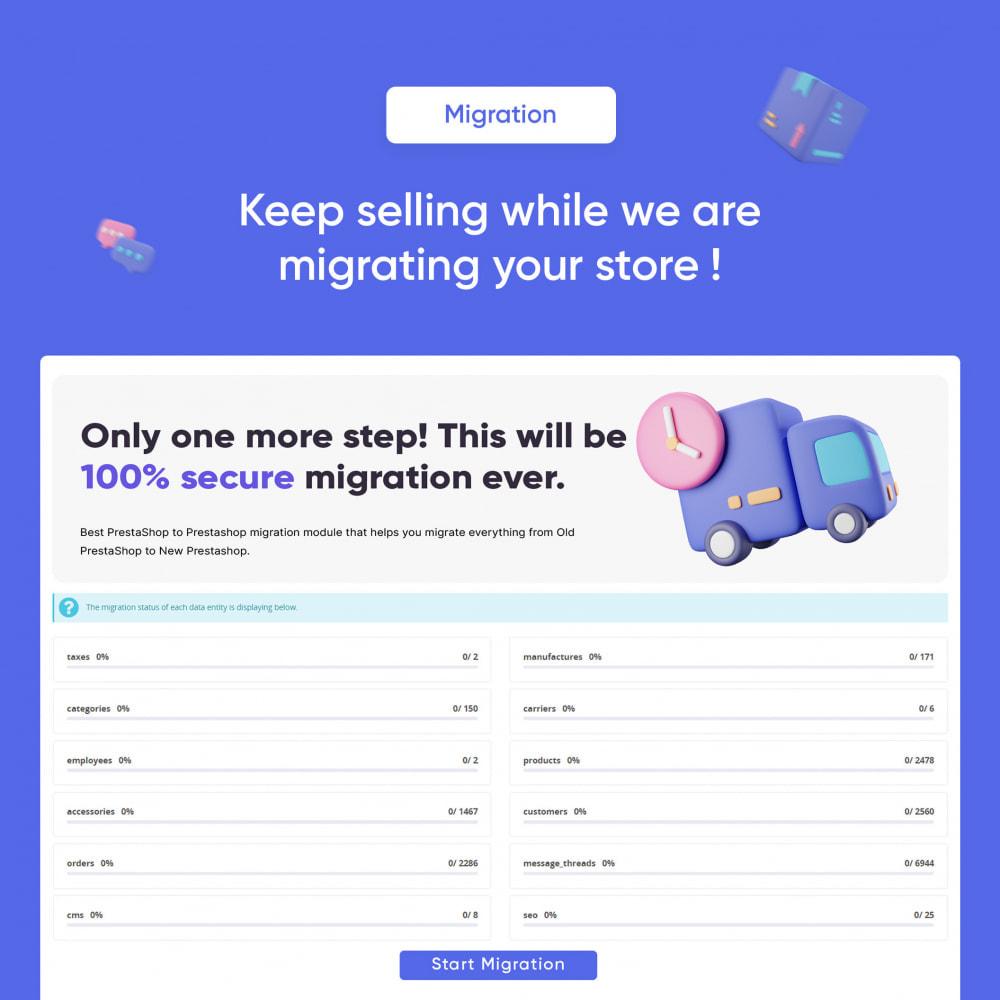 module - Migración y Copias de seguridad - 1-Click Upgrade and Migrate Tool to Prestashop 1.7 - 5