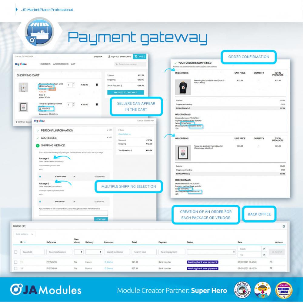 module - Creazione Marketplace - JA Marketplace - 14