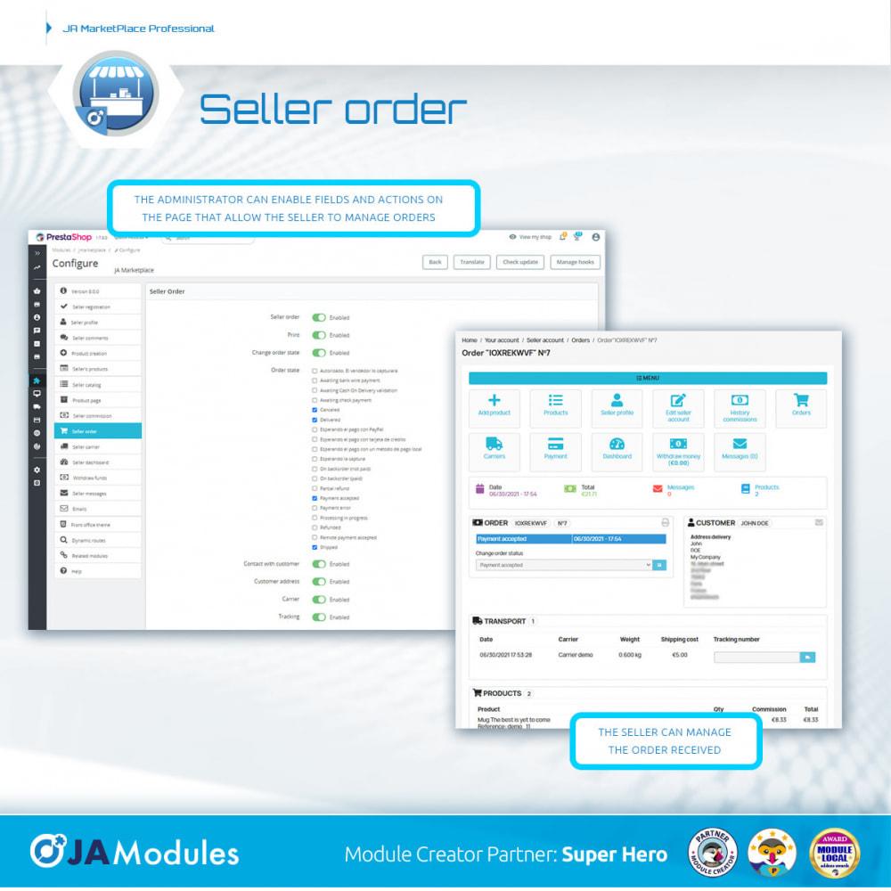 module - Creazione Marketplace - JA Marketplace - 16