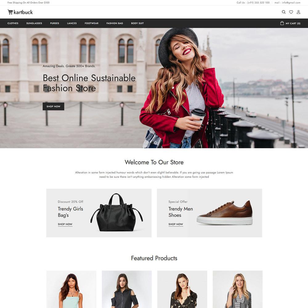 theme - Moda & Calzature - Kartbuck Fashion Store - 2