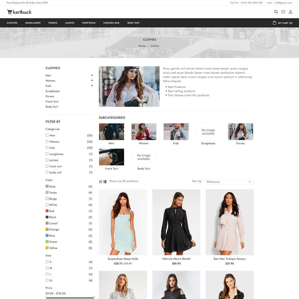 theme - Moda & Calzature - Kartbuck Fashion Store - 3