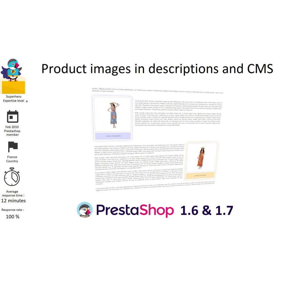 module - SEO (Posicionamiento en buscadores) - Product images in descriptions and CMS - 1