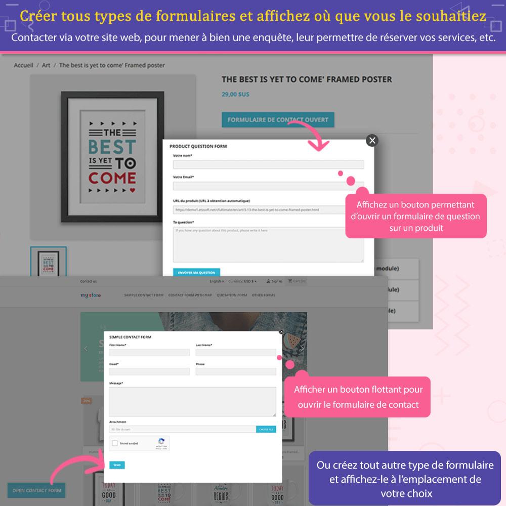 module - Formulaires de Contact & Sondages - Contact Form Ultimate – Générateur de formulaires - 5