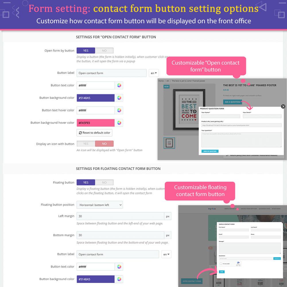 module - Formulário de contato & Pesquisas - Contact Form Ultimate - 11