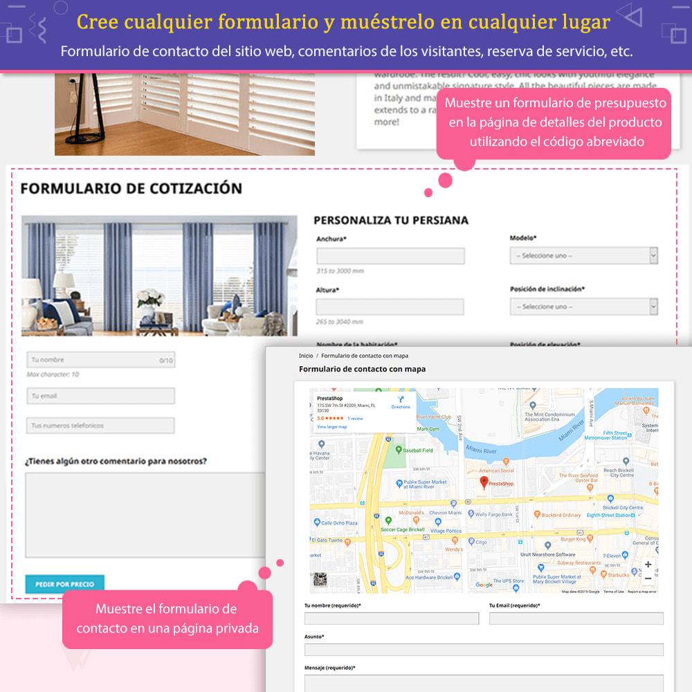 module - Formulario de contacto y Sondeos - Contact Form Ultimate: Arrastra y suelta formularios - 4