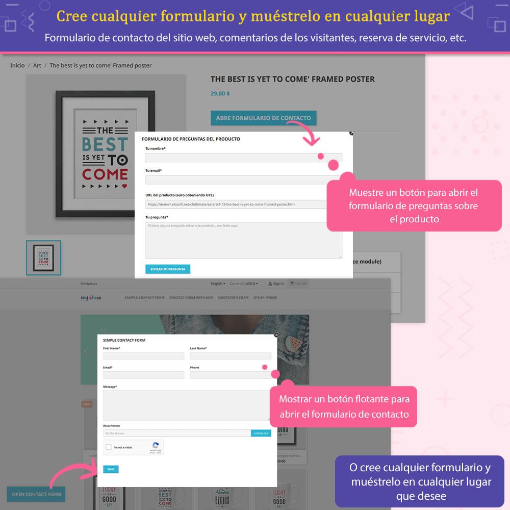 module - Formulario de contacto y Sondeos - Contact Form Ultimate: Arrastra y suelta formularios - 5