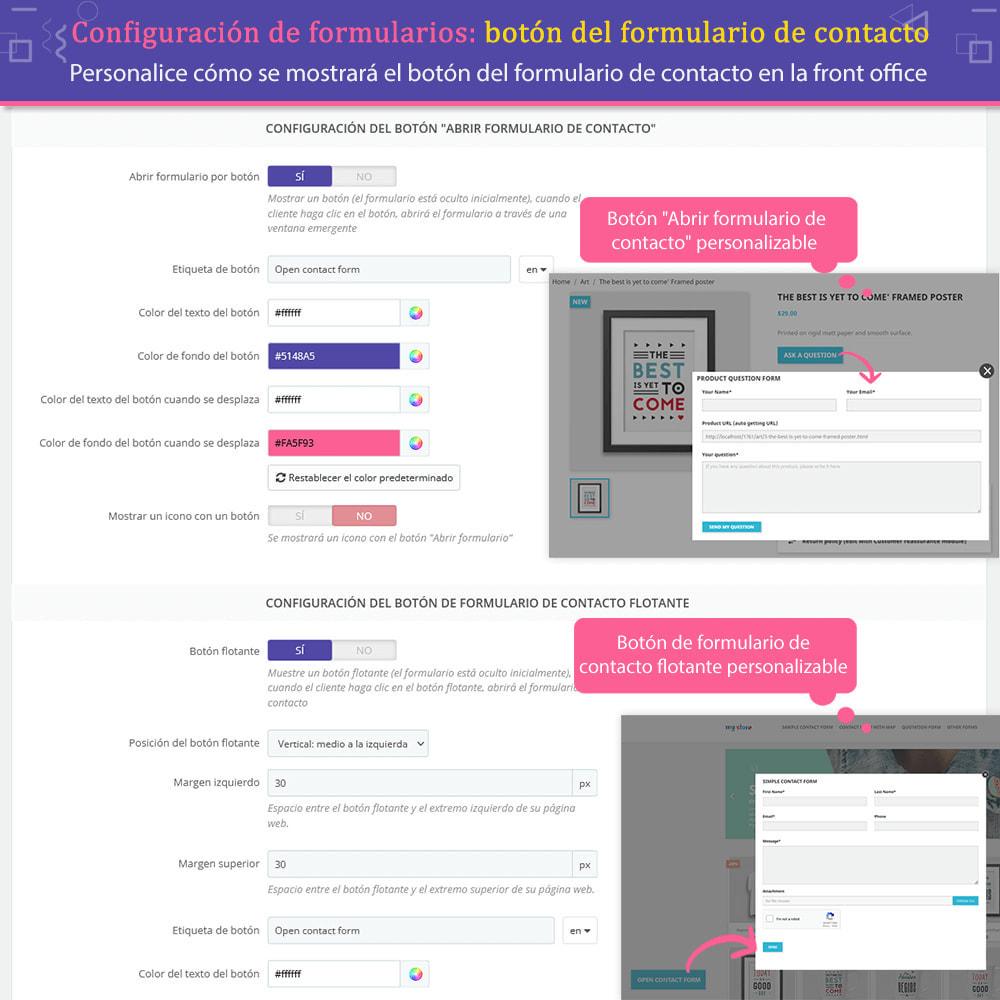 module - Formulario de contacto y Sondeos - Contact Form Ultimate: Arrastra y suelta formularios - 11