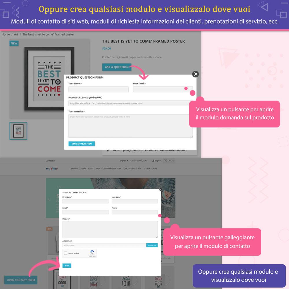 """module - Form di contatto & Questionari - Contact Form Ultimate – Creatore moduli """"Drag & drop"""" - 5"""
