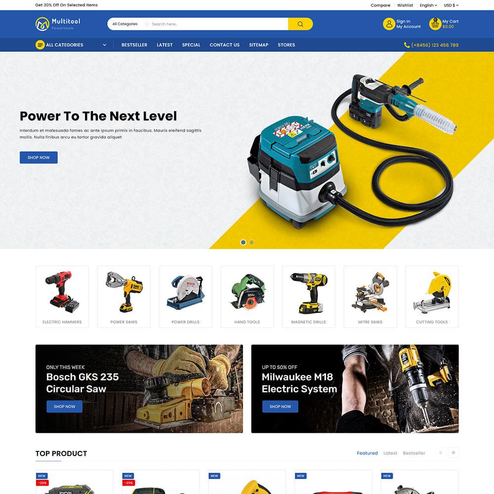 theme - Automotive & Cars - Multitool - Mega Power Tool Store - 3