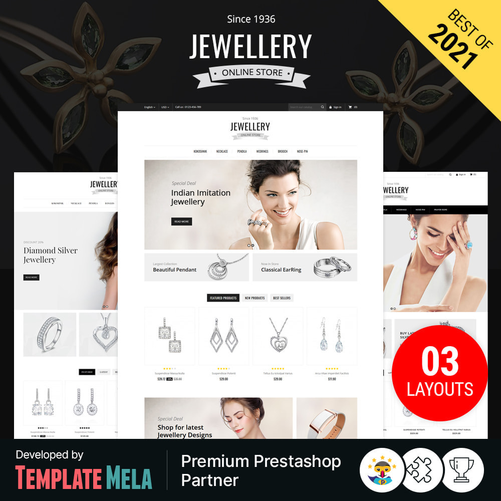 theme - Ювелирные изделия и Аксессуары - Jewelry & Accessories Store - 1