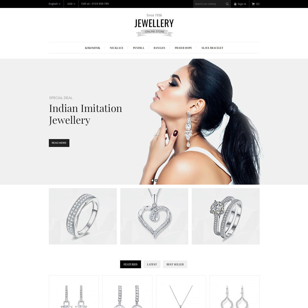 theme - Ювелирные изделия и Аксессуары - Jewelry & Accessories Store - 3