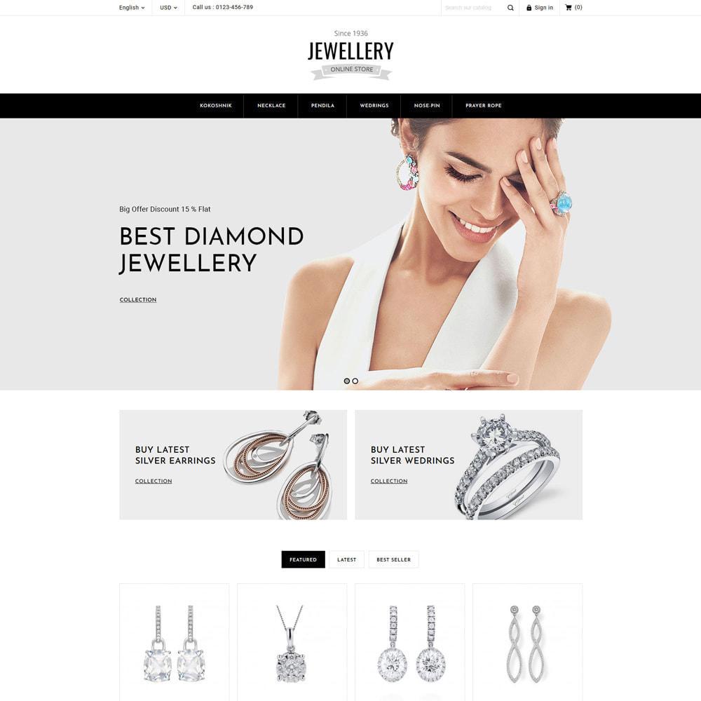 theme - Ювелирные изделия и Аксессуары - Jewelry & Accessories Store - 4