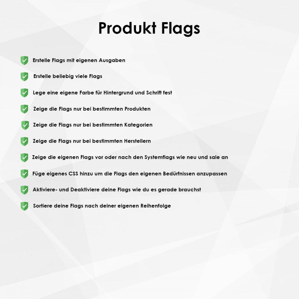 module - Bundels & Personalisierung - Flags/Labels/Badges für Produkte - 1