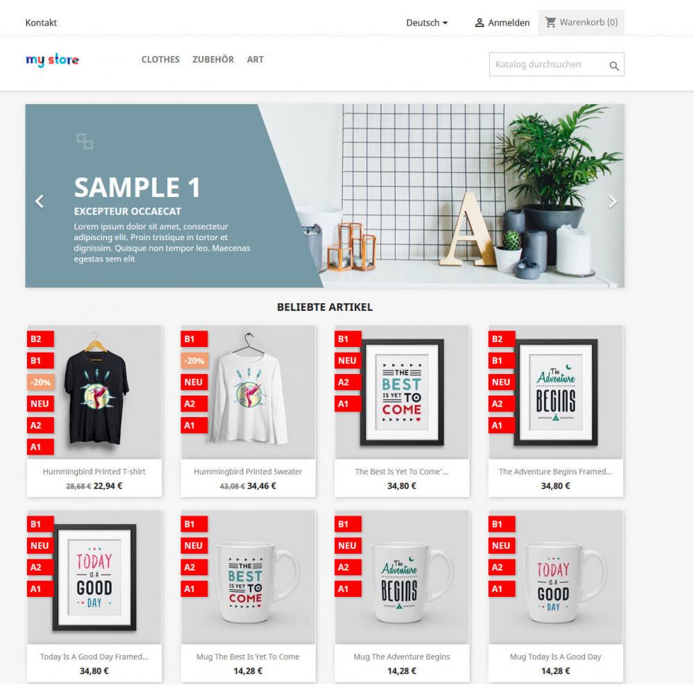 module - Bundels & Personalisierung - Flags/Labels/Badges für Produkte - 2
