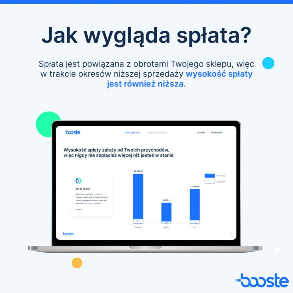 service - Usługi bankowe - Booste - Środki na rozwój Twojego sklepu internetowego - 3