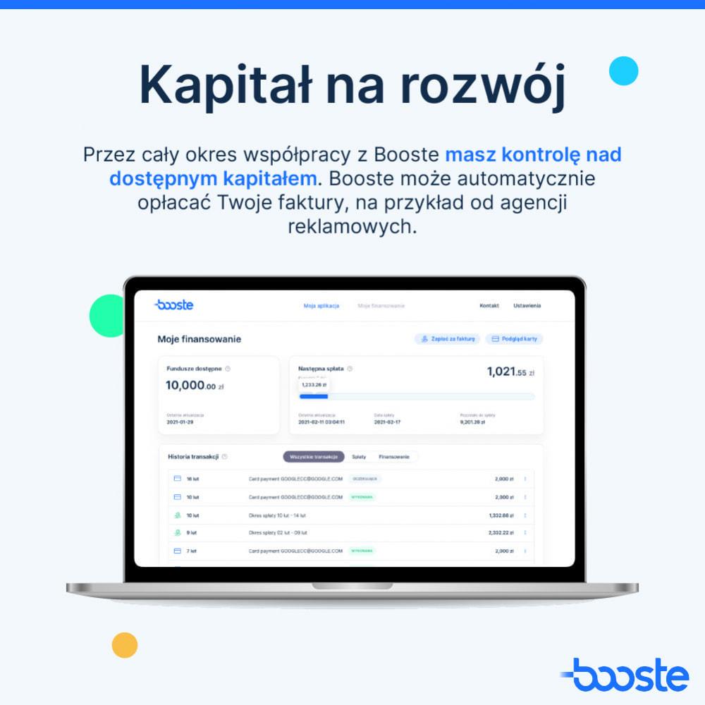 service - Usługi bankowe - Booste - Środki na rozwój Twojego sklepu internetowego - 4