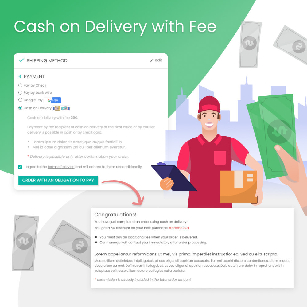 module - Оплата при доставке - Cash on Delivery with Fee (COD) - 1