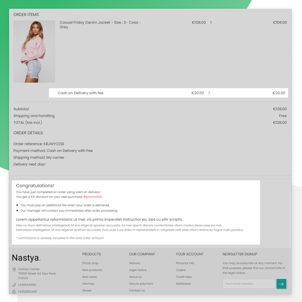module - Оплата при доставке - Cash on Delivery with Fee (COD) - 3